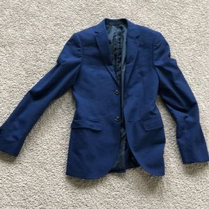 Royal blue topman suit